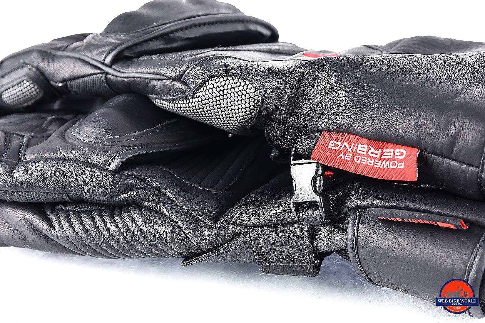 The Gerbing Vanguard heated motorcycle gloves