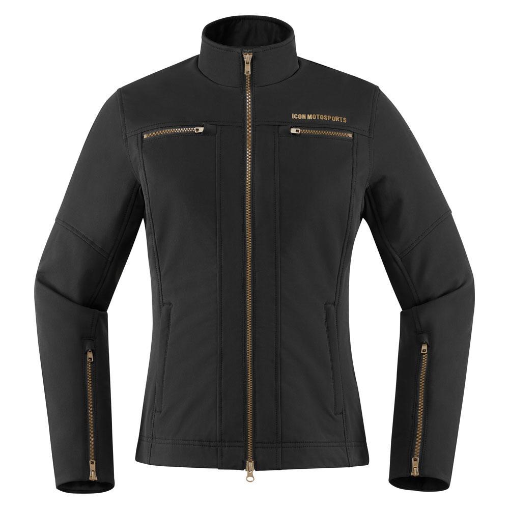 Black Icon Hella 2 Textile motorcycle jacket