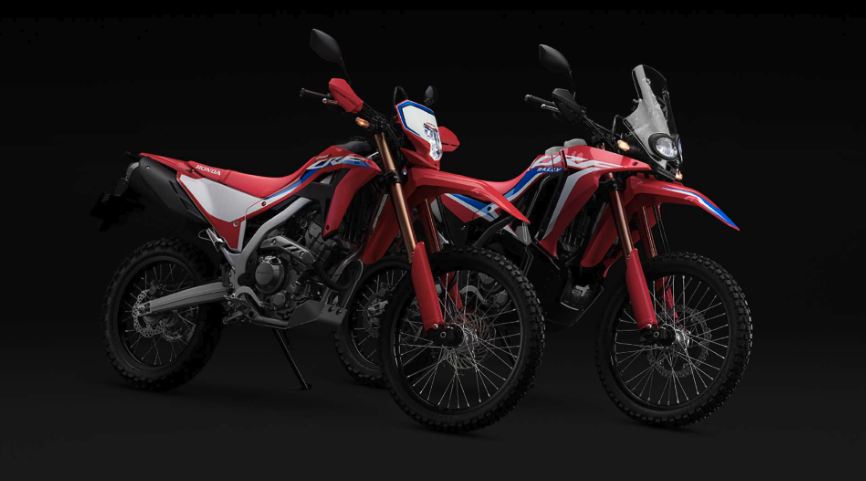 CRF250L and CRF250 Rally 2021