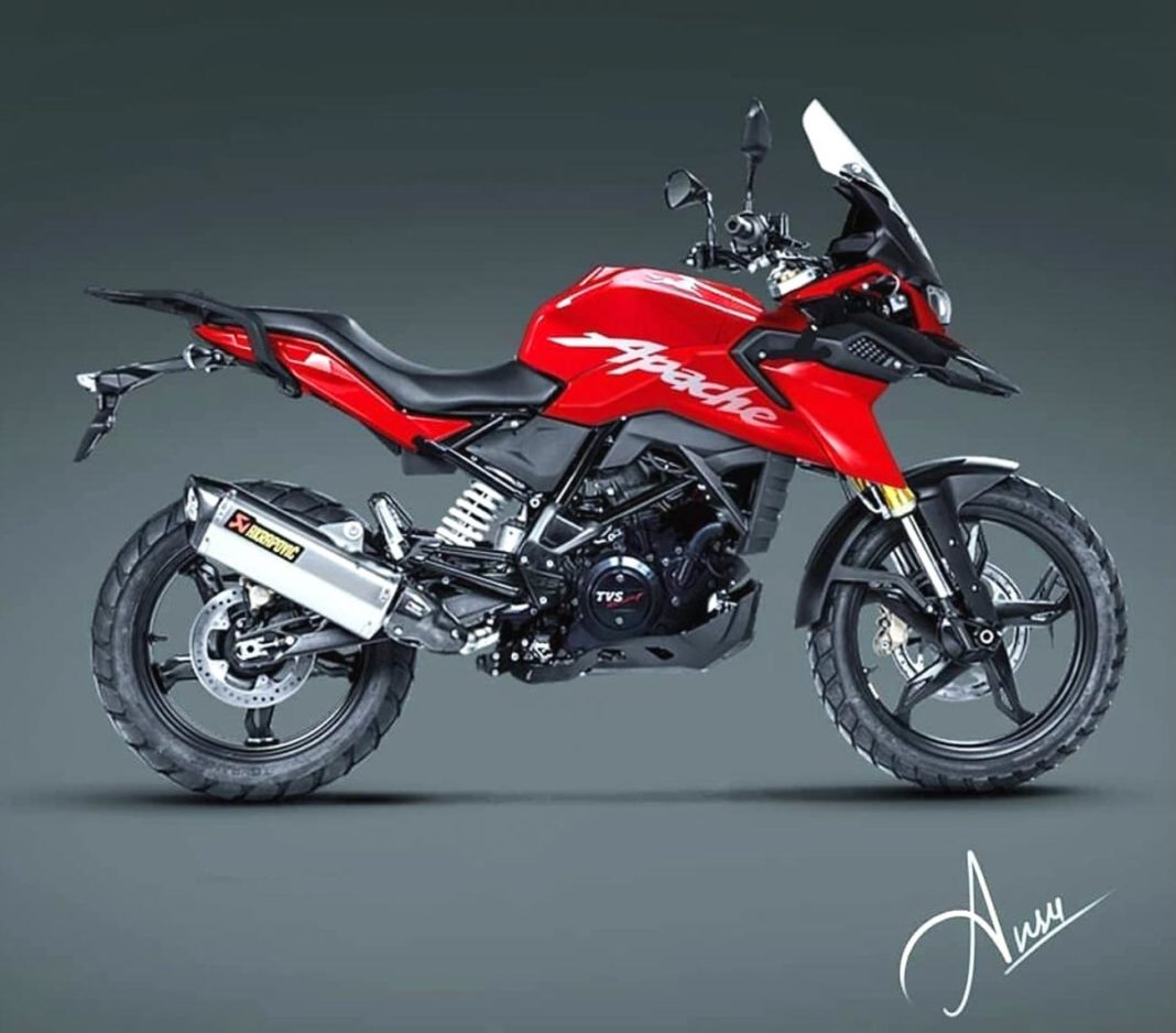 TVS Apache adventure bike