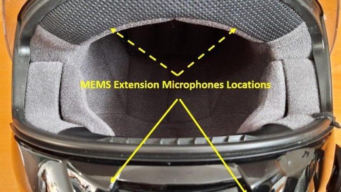 Front view of Shoei QWEST helmet