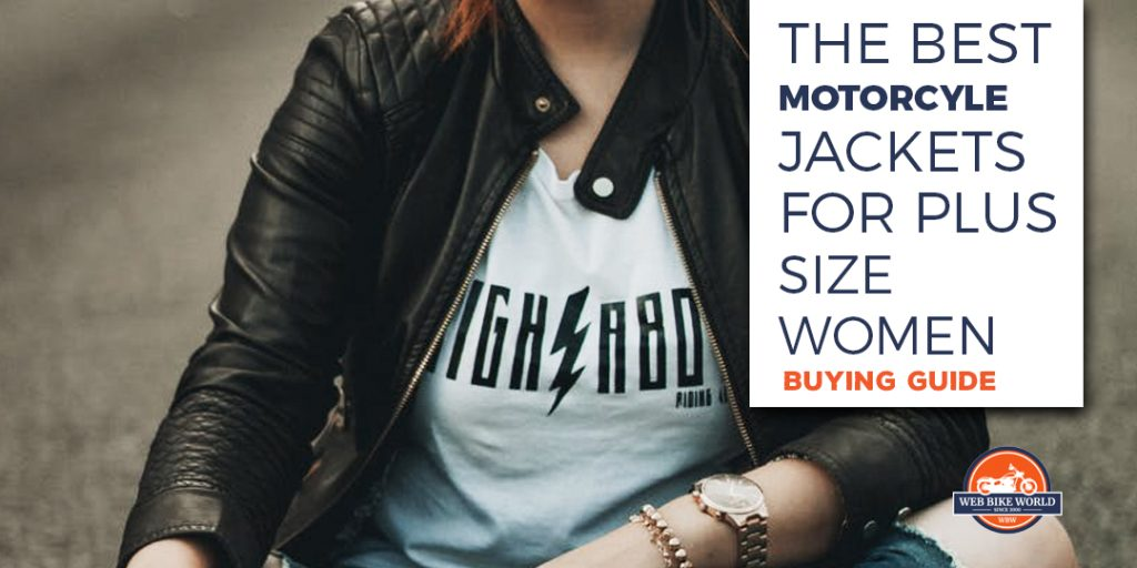 the best motorcycle jackets for plus size women