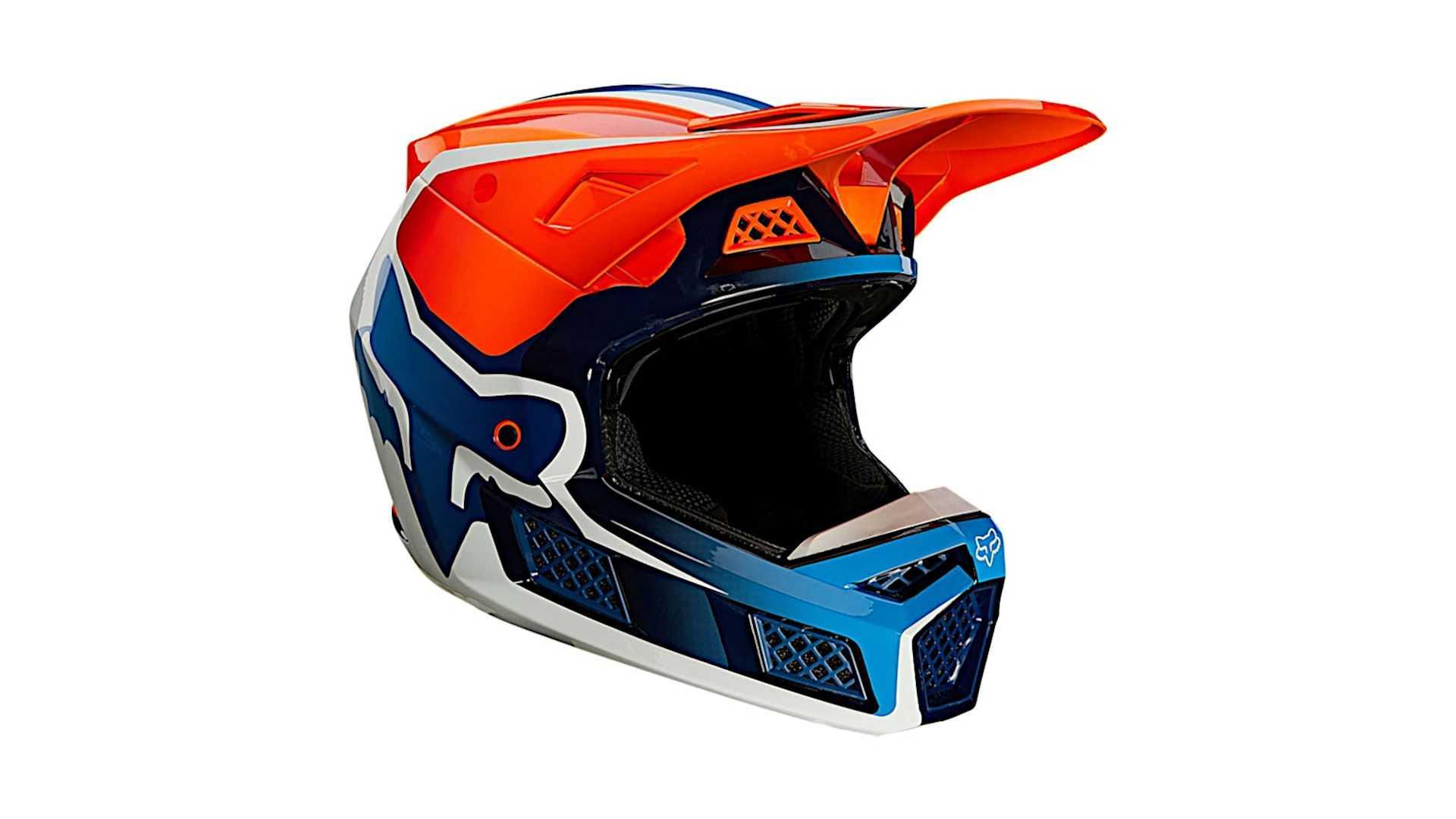 Fox Racing V3 Rs Wired Helmet Hits The Shelves Webbikeworld