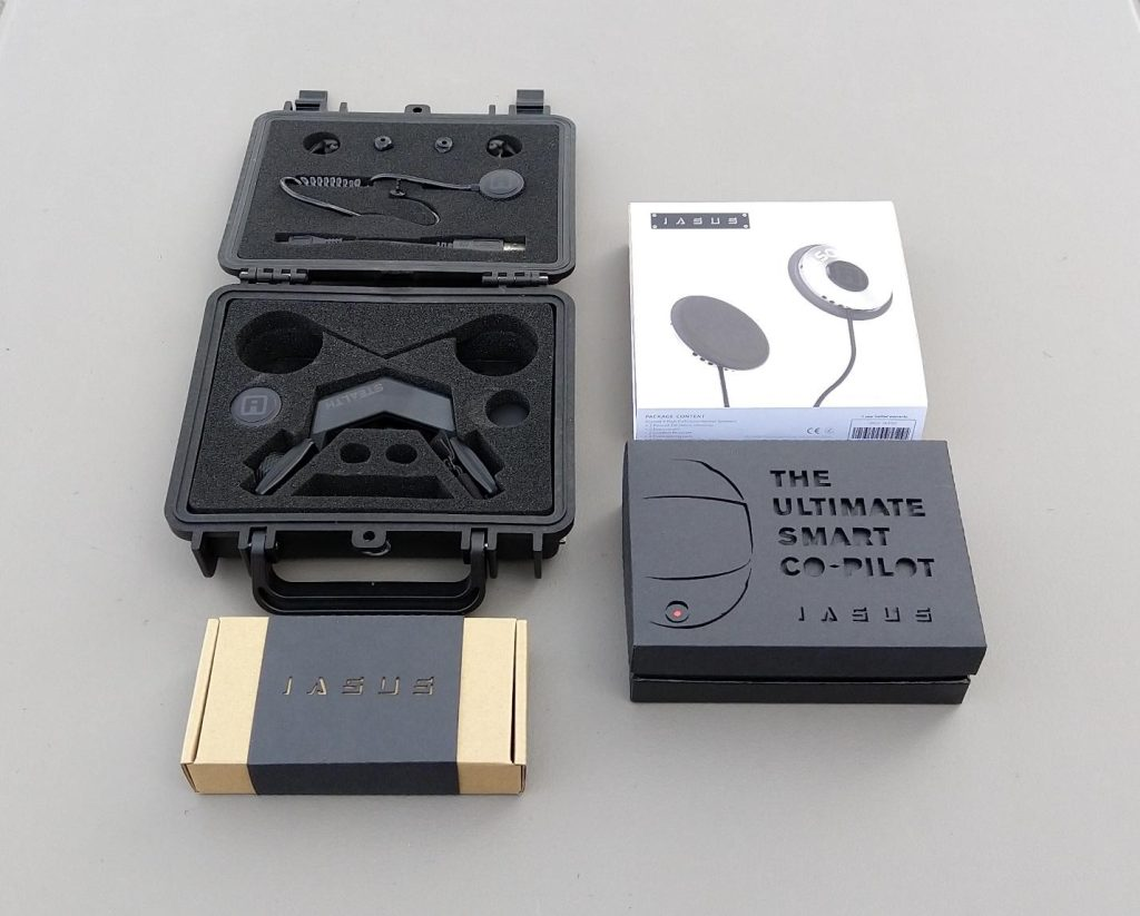 iASUS Stealth Throat microphone retail packaging