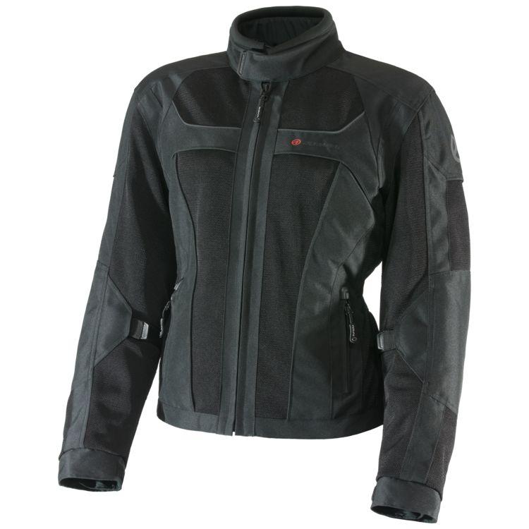 Black Olympia Eve motorcycle jacket