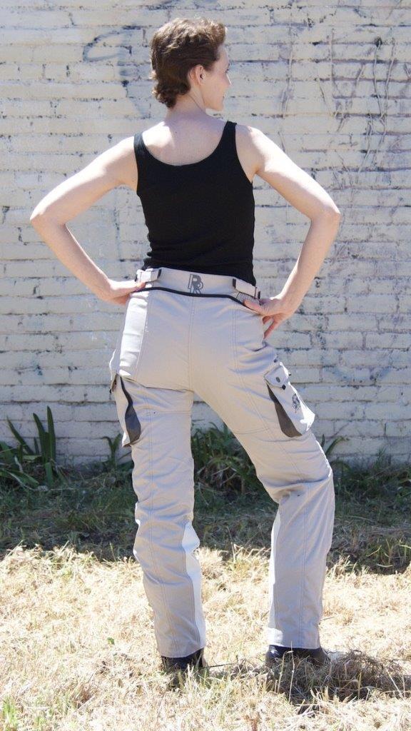 Female wearing Raven Rova Falcon Hybrid pants