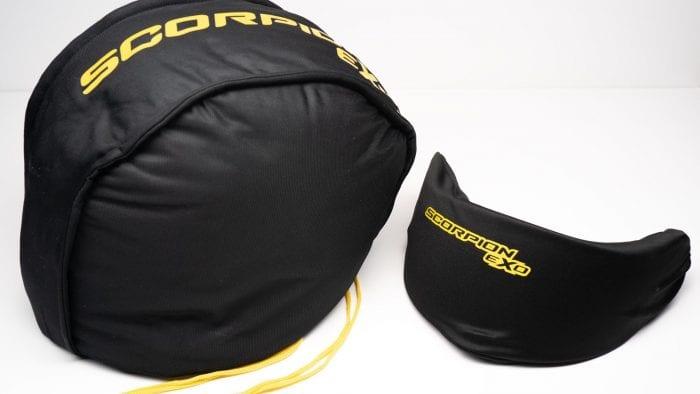 Carrying bag for Scorpion EXO R1 helmet