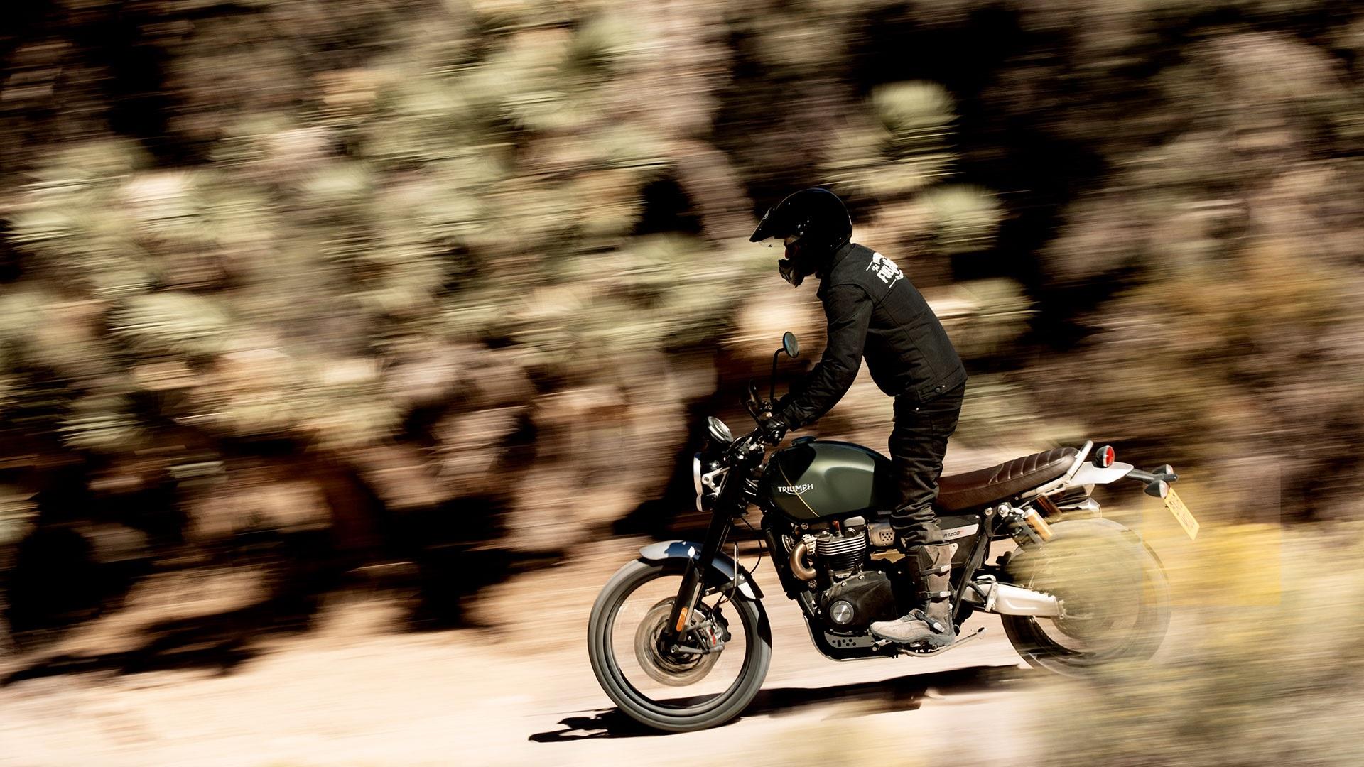 Umgebautes Motorrad Triumph Scrambler 1200 XE von Stärker