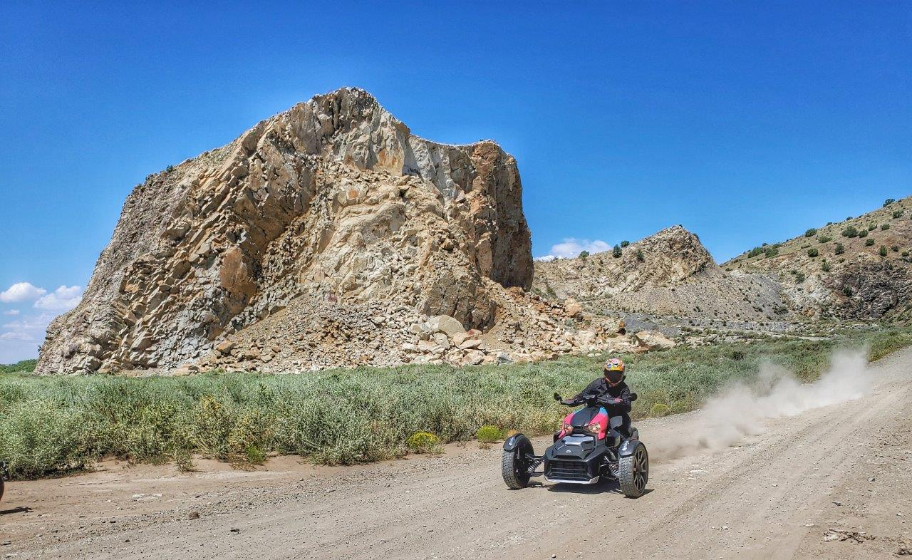 Off-road Can-Am Ryker 900 Rally Edition