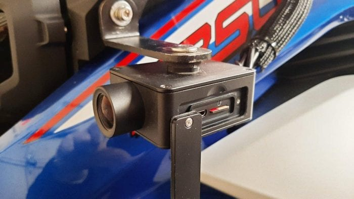 INNOVV camera module with SD card slot