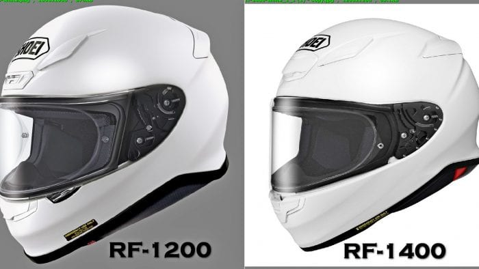 Some of the differences between the RF-1200 vs the new RF-1400 is fairly easy to see in this photo.