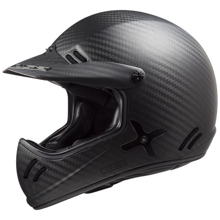 LS2 carbon helmet