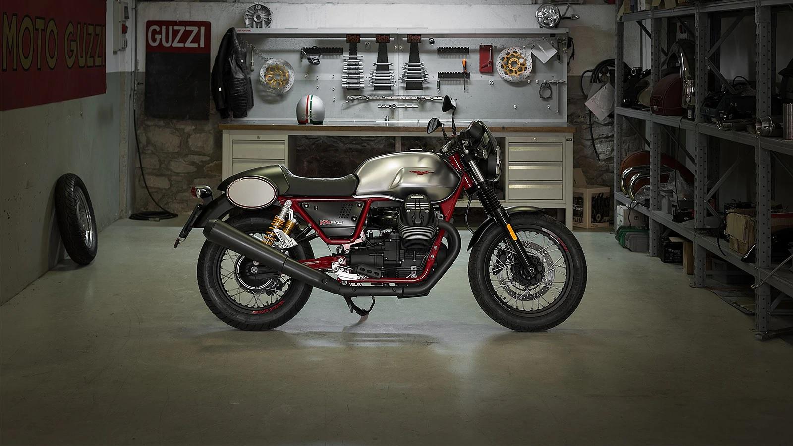 2018 Moto Guzzi V7 III Racer 750