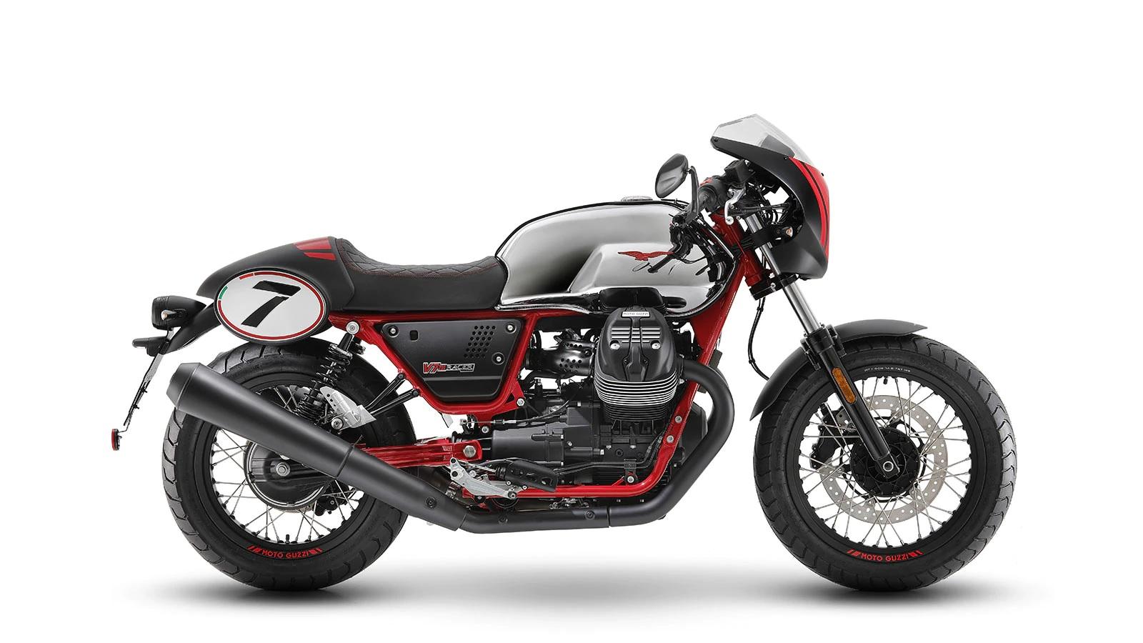 2020 Moto Guzzi V7 III Racer X Anniversary 750