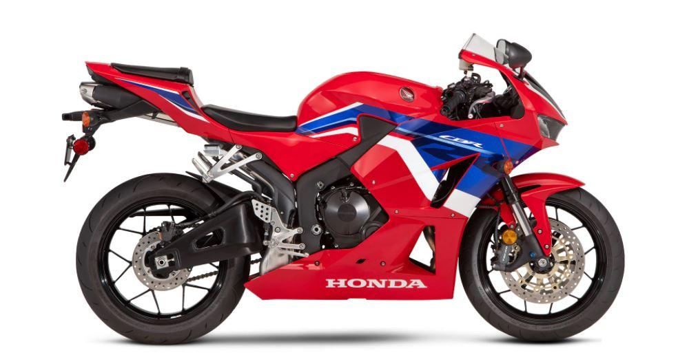 2021 Honda CBR600RR - Grand Prix Red