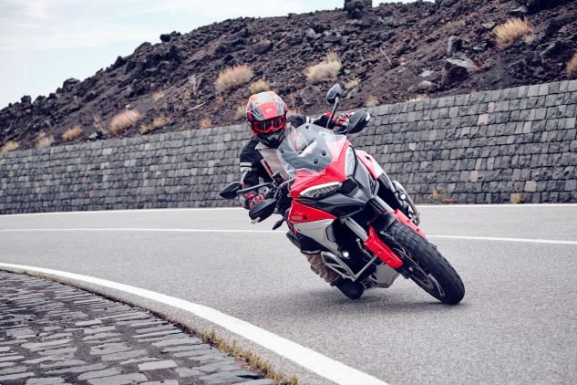 The Ducati Multistrada V4S