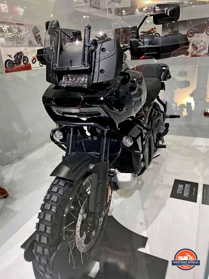 The Harley Davidson Pan America prototype.