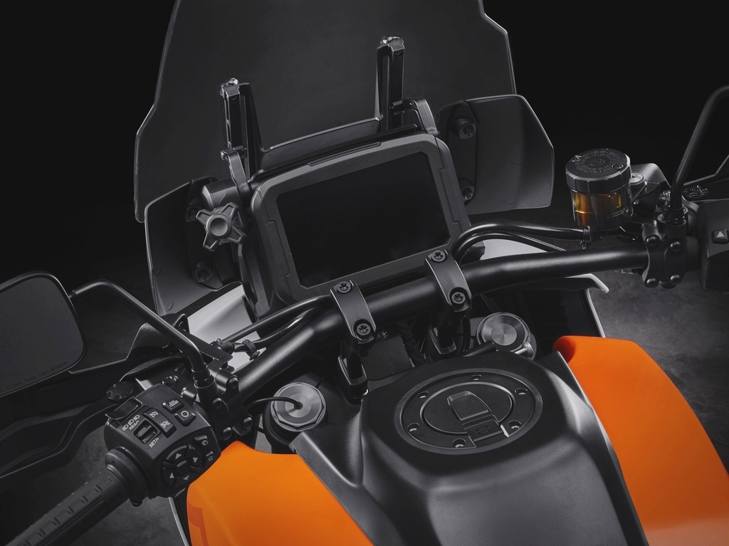 The cockpit of the Harley Davidson Pan America.