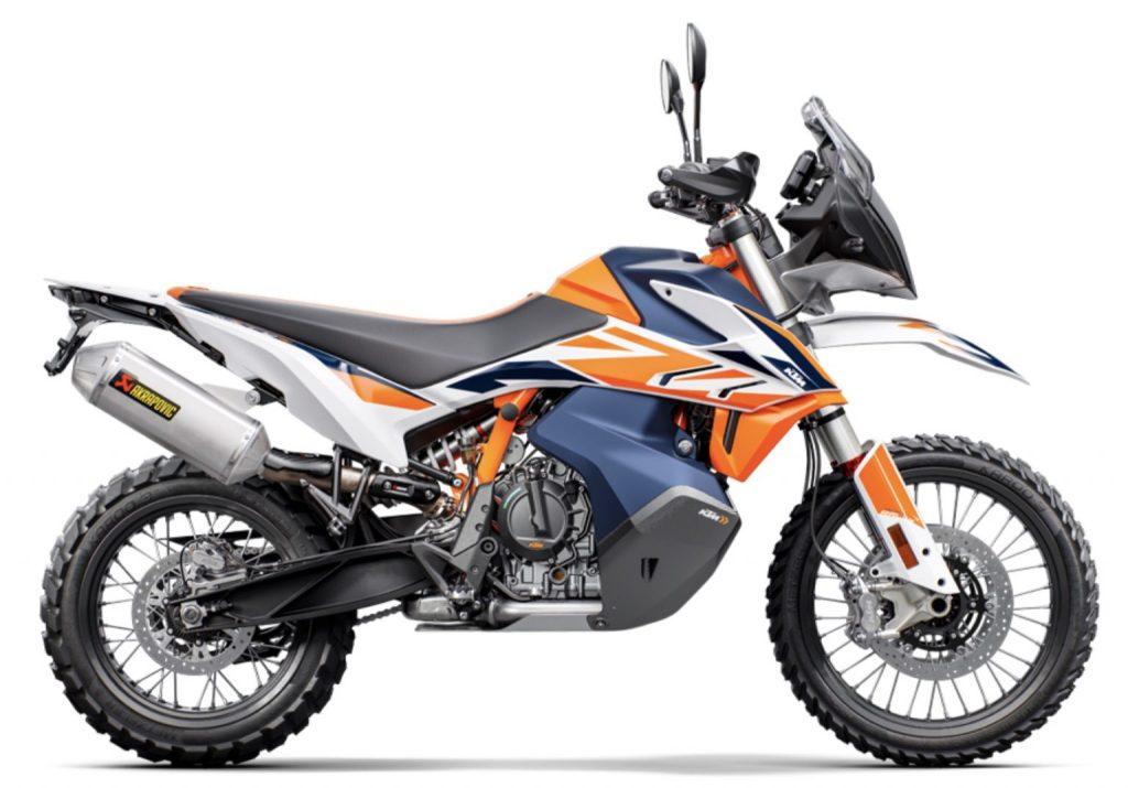 2021 KTM 790 Adventure R Rally