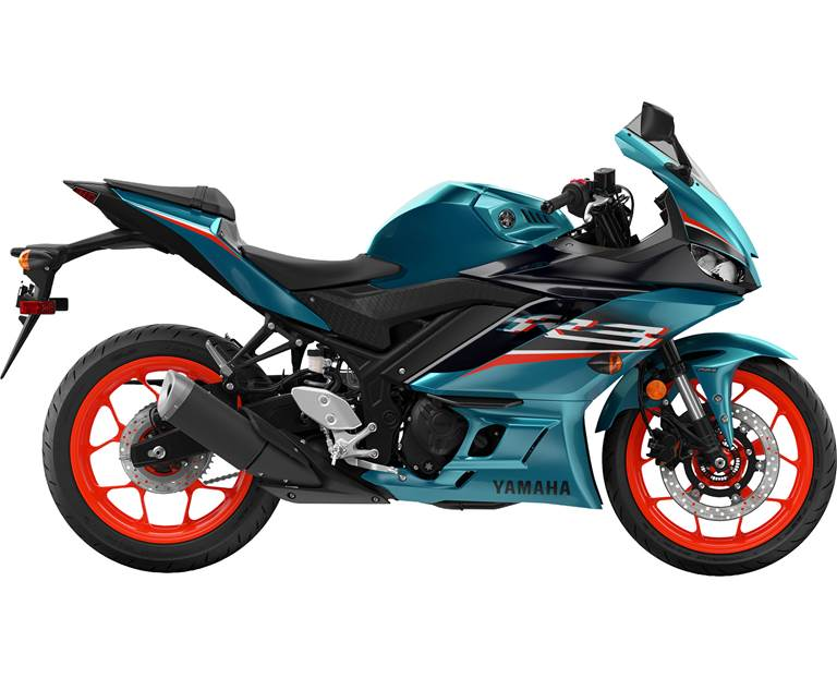 2021 YZF-R3 Electric Teal