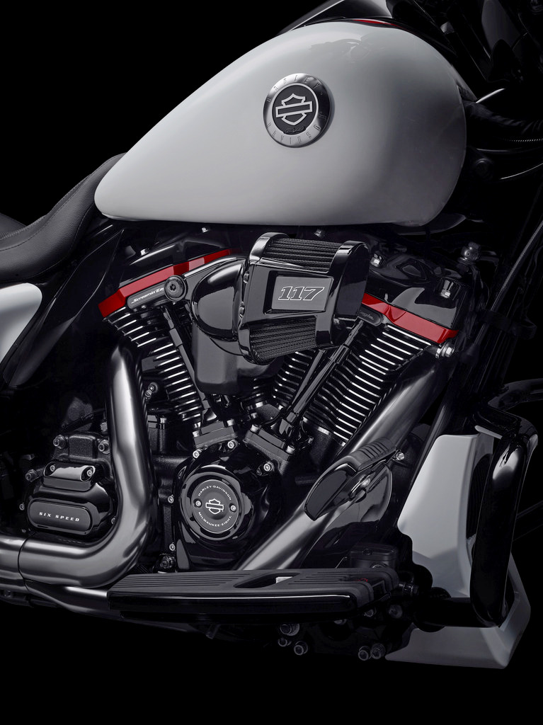 The 117 cubic inch engine found in 2021 Harley Davidson CVO motorcycles.