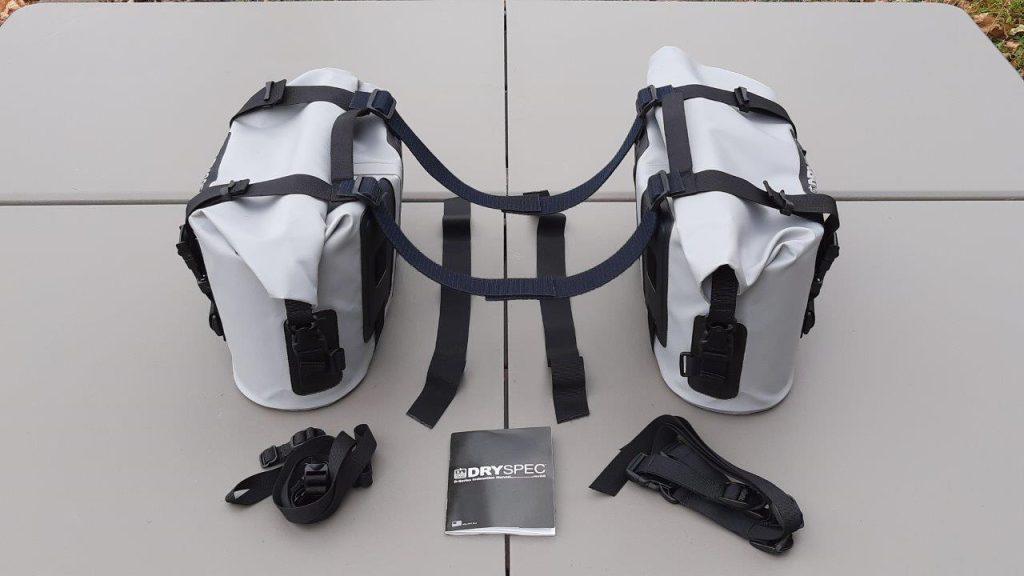 DrySpec D20 side bags