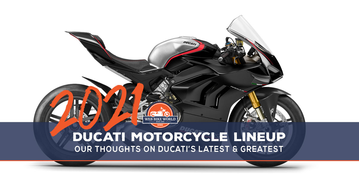 2021 Ducati Motorcycles Lineup