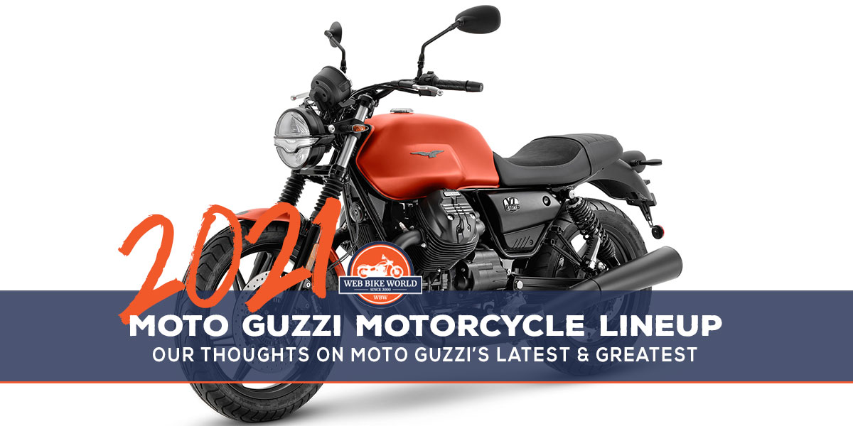 2021 Moto Guzzi Lineup