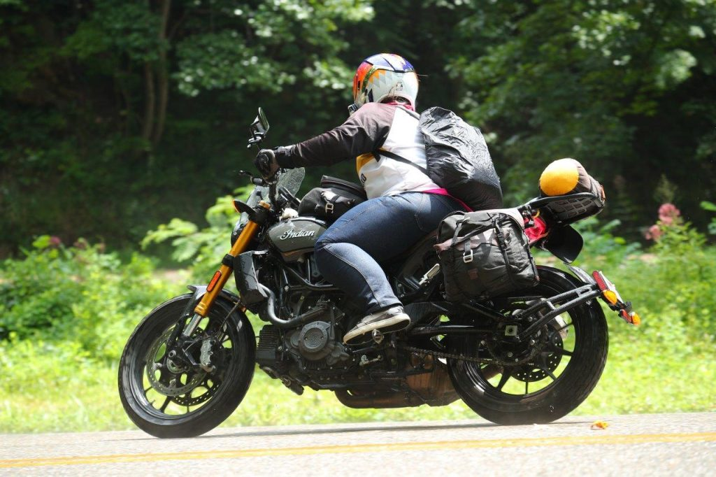 Indian FTR 1200 S with Touring Accessory package US129 The Tail of the Dragon