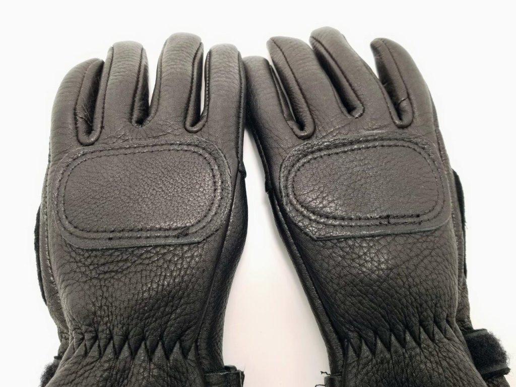 The Lee Parks Design Deersports gloves knuckle protection.