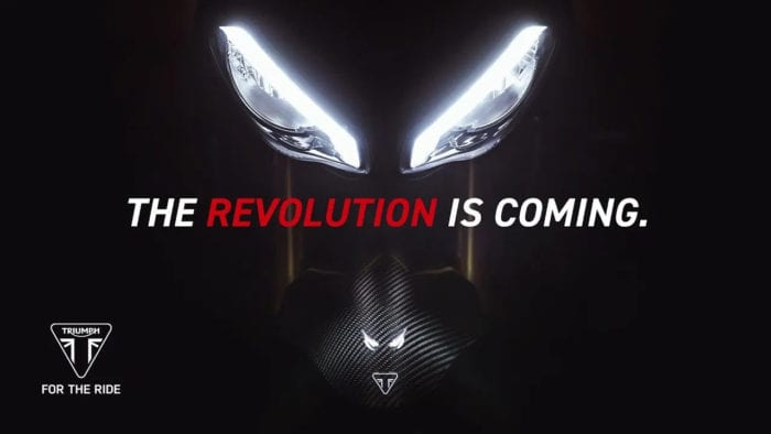 2021 Triumph Speed Triple 1200 RS Headlight Teaser