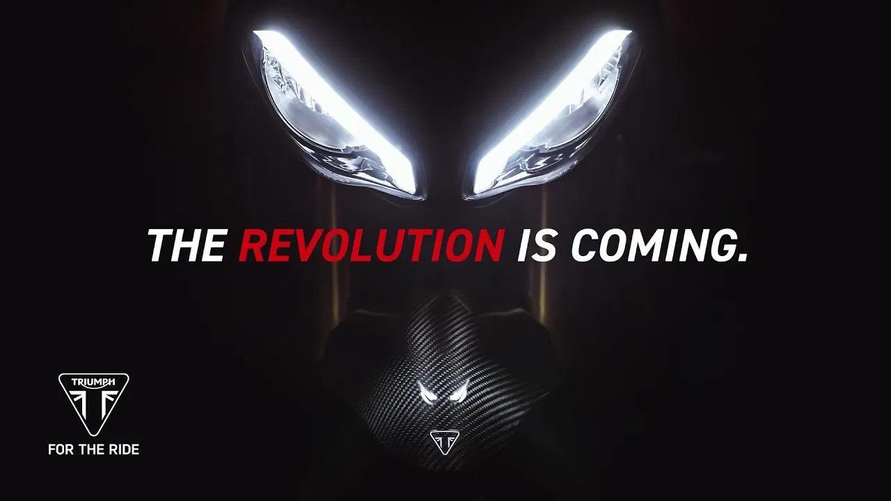 2021 Triumph Speed Triple 1200 RS Headlight Teaser