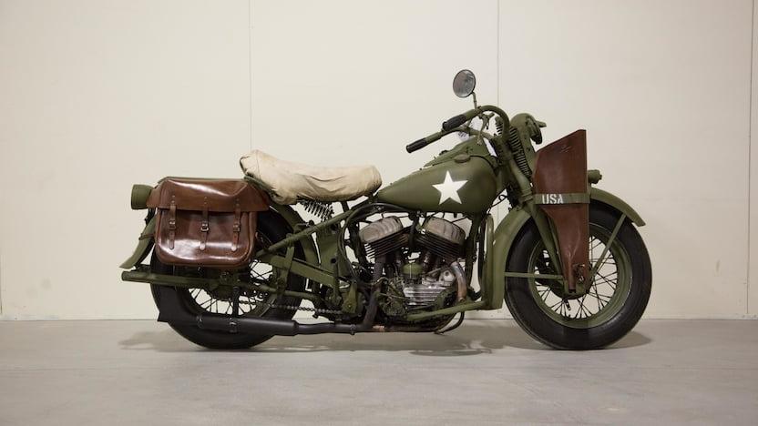 1941 Harley-Davidson WLA Side View