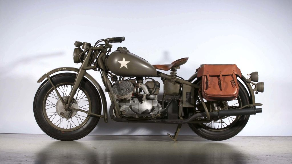1942 Indian 841 Military Side View