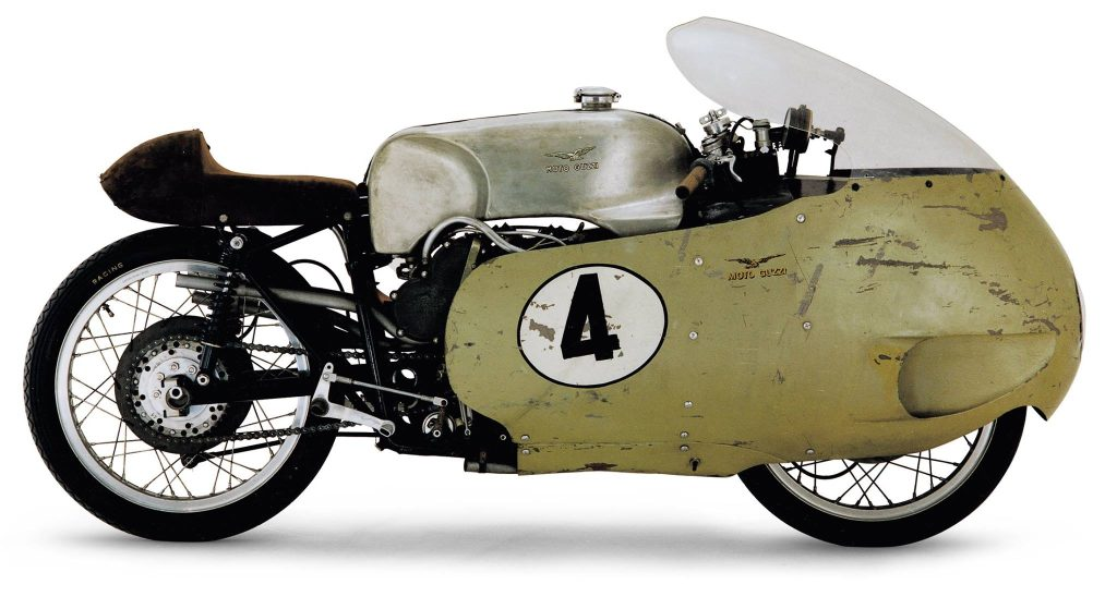 1955 Moto Guzzi V8 Side View