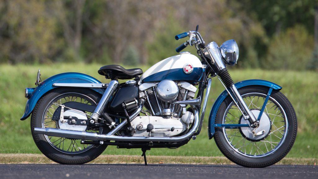 1957 Harley-Davidson Sportster Side View