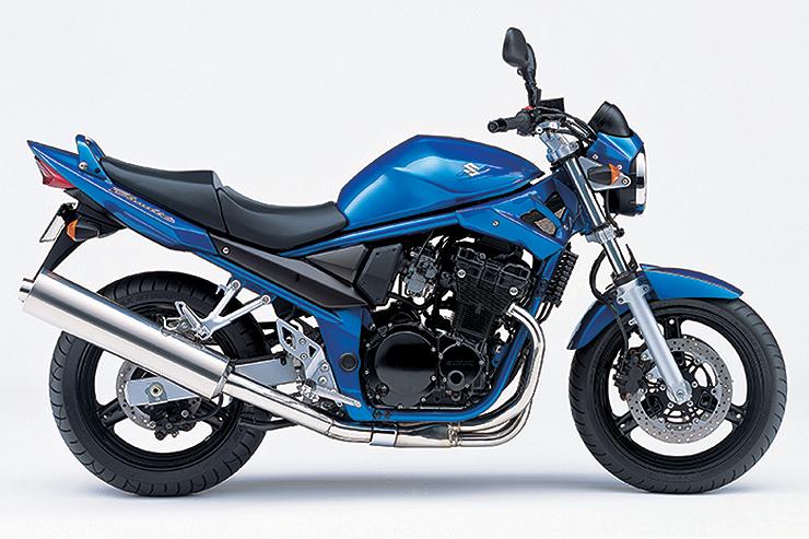 Suzuki Bandit GSF 600 Side View