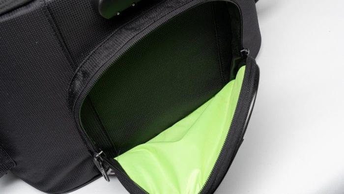 Open side pocket of the 70025 bag