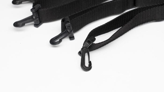 Closeup of the 70025 straps