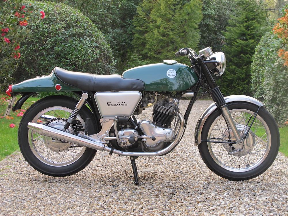 1968 Norton Commando Fastback Side View