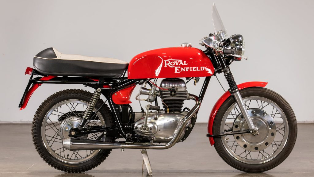 1968 Royal Enfield Continental GT 250 Side View