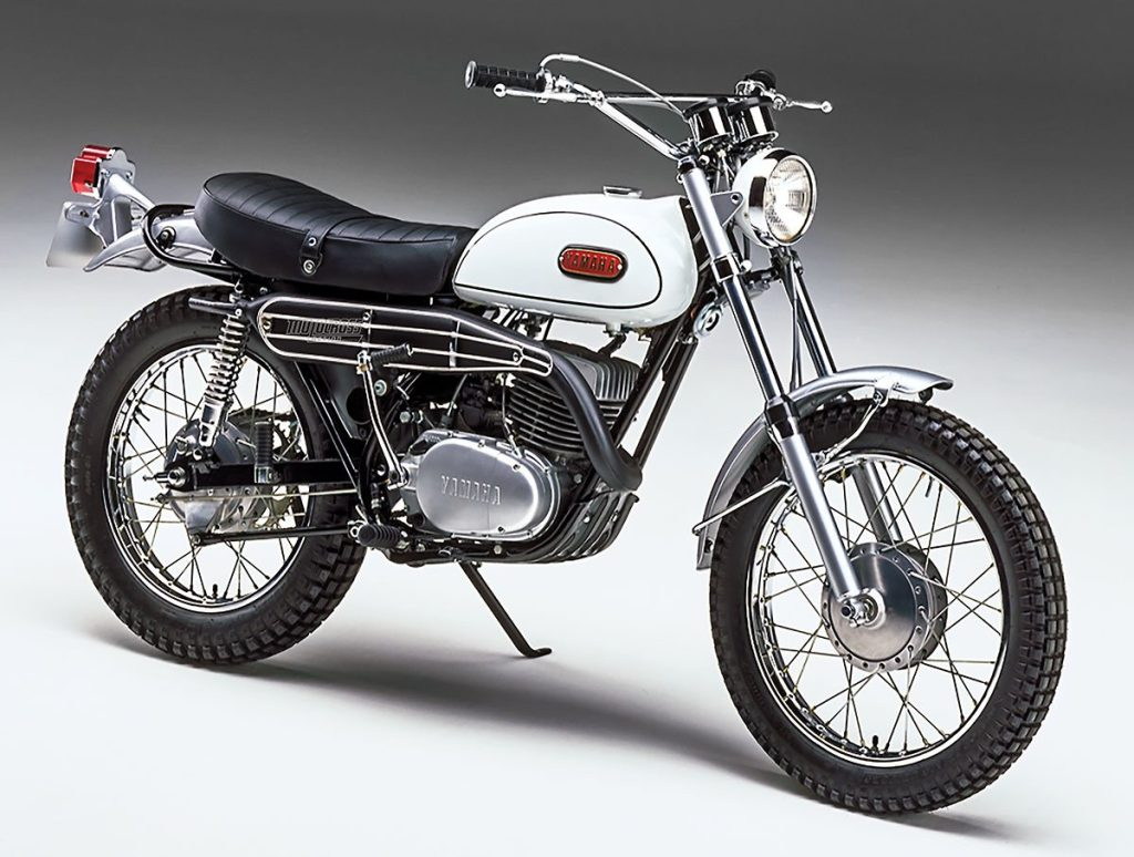 1968 Yamaha DT-1 Front and Side View