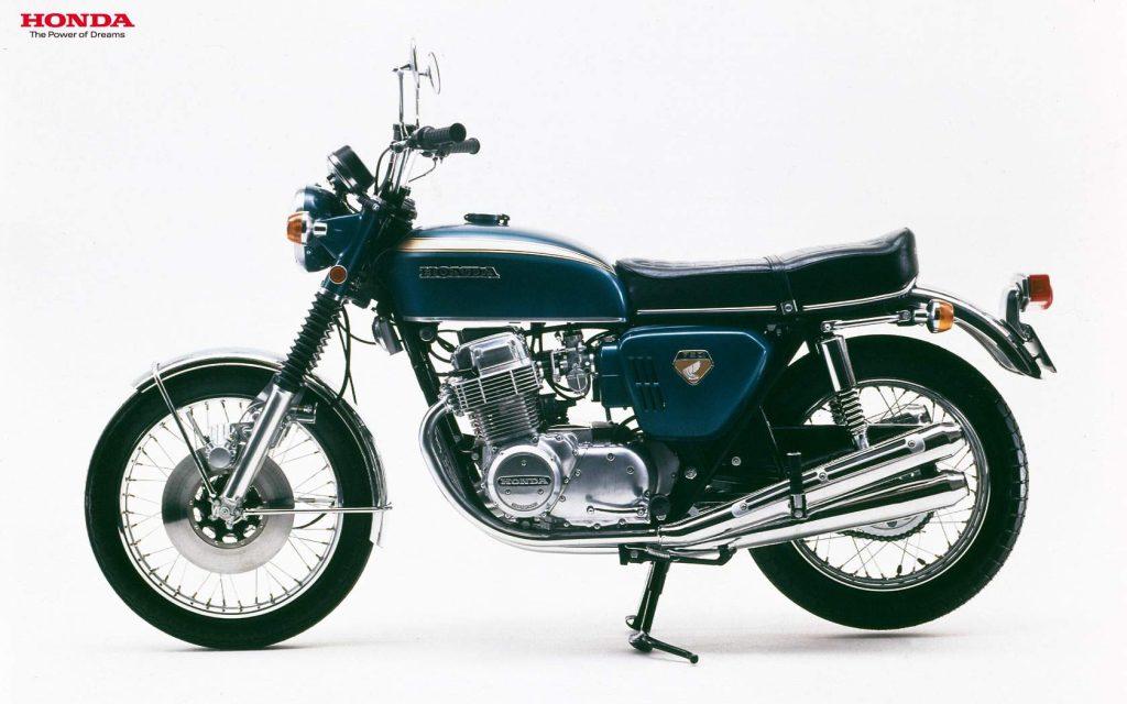 1969 Honda CB750 Four Side View