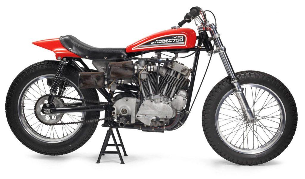 1972 Harley-Davidson XR750 Side View