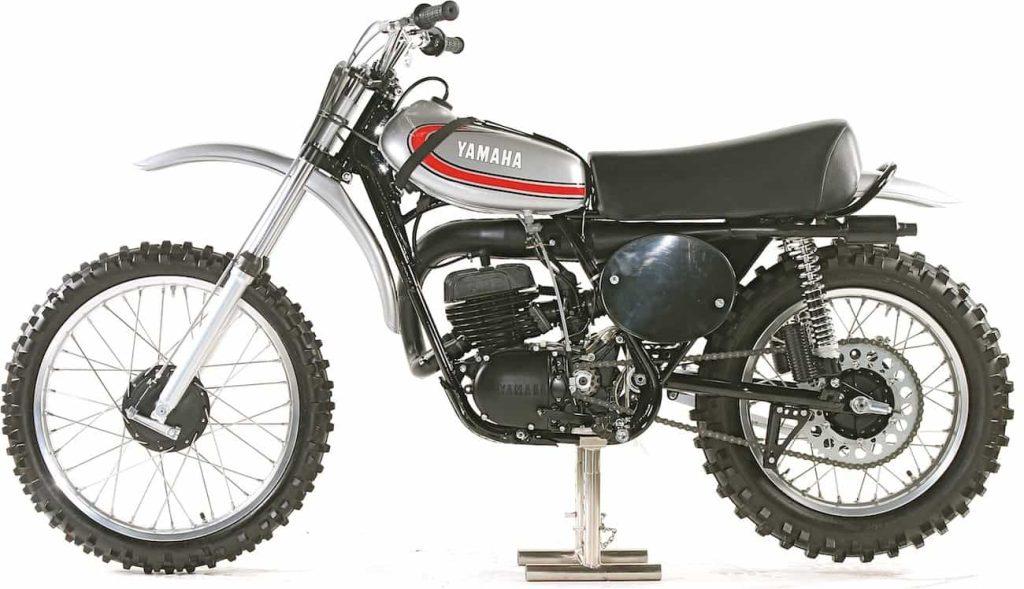 1974 Yamaha YZ 250 A Side View
