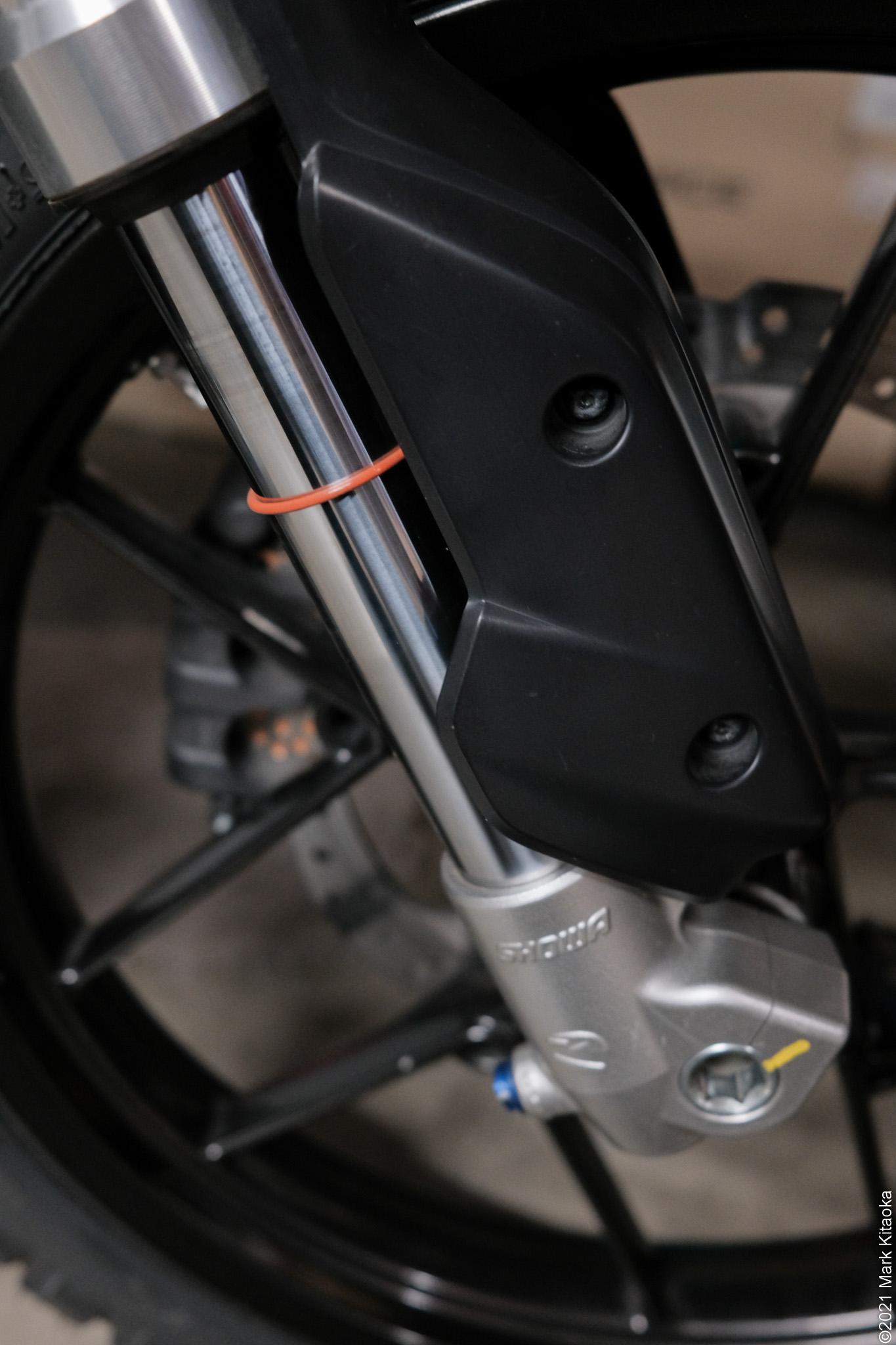 Zero DSR front suspension
