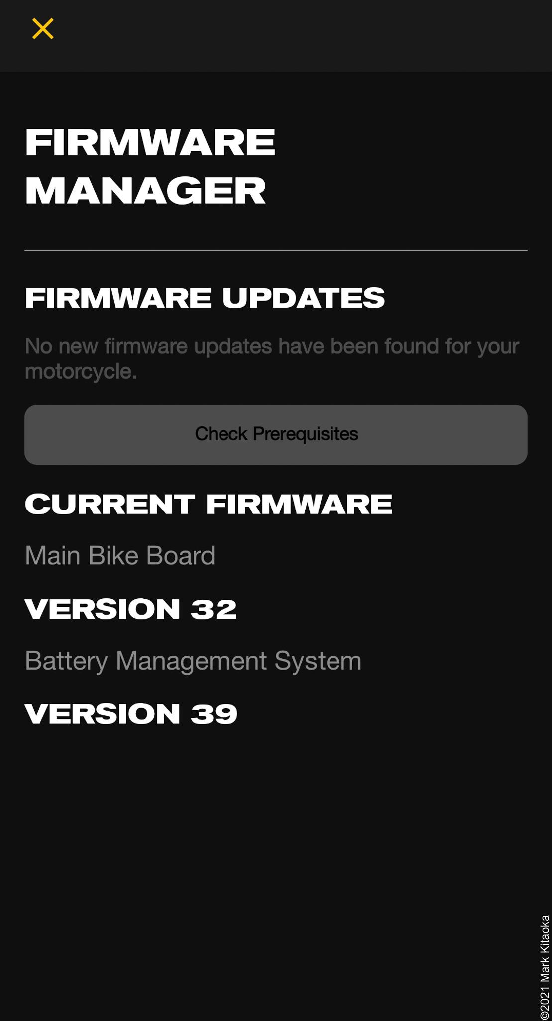 Firmware update for Zero smartphone app