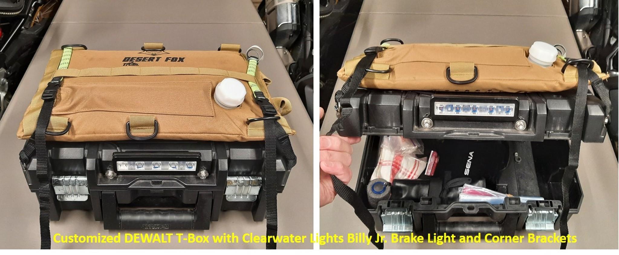 Fuel cell mounted to custom Dewalt T-Box