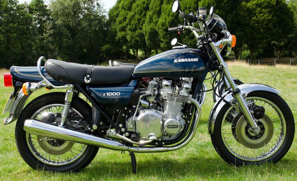 1977 Kawasaki Z1000 Side View