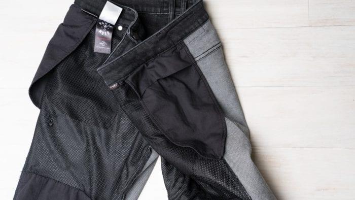 Hip armor pockets for the included armor